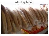 De afdeling Banket & Brood