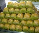 Baklava met  gemengd noten